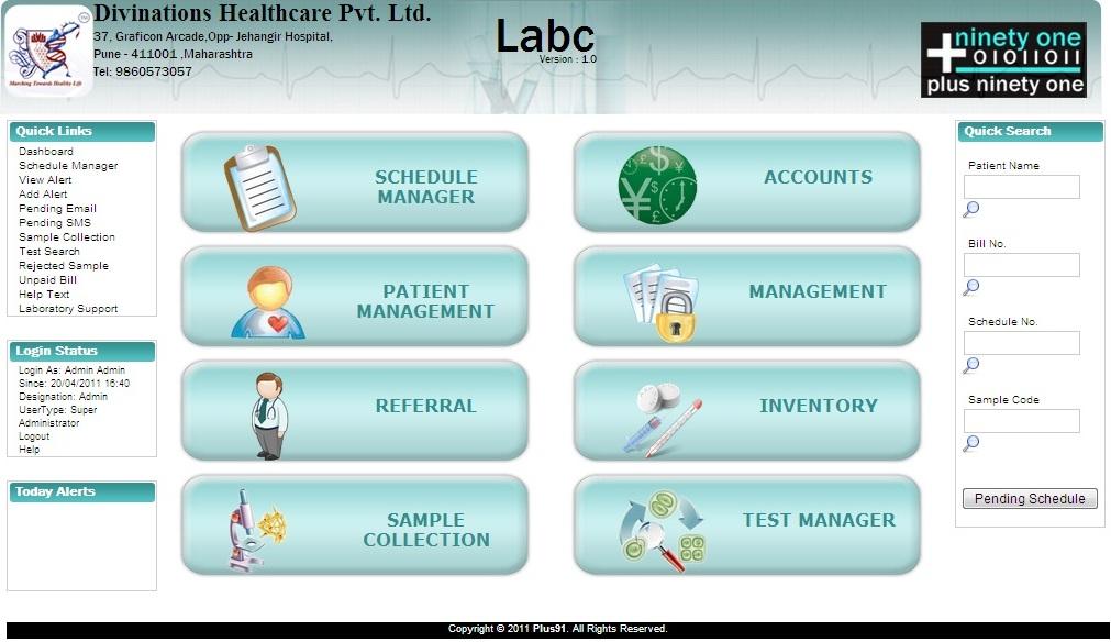 About Labc Labc Lab Information System Lims