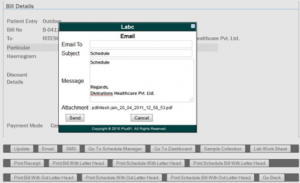 LIMS, LABC, PLUS91, Labc EMR, SMS Pathology Report, Email Blood Report, Email and SMS in LIS