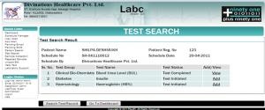 LabC, Lims, Lab Info System, pathology Lab Software, Laboratory Software, Culture Lab Software, Plus91, Test Search